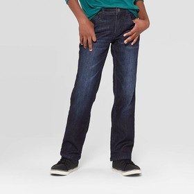 Boys' Flannel Lined Straight Denim - Cat & Jack™