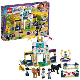 LEGO Friends Stephanie's Horse Jumping Building To