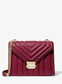 Michael Kors Whitney Large Quilted Leather Convert
