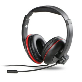 TSV Wired Gaming Microphone Headset With Audio Con