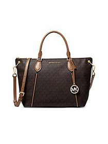 MICHAEL Michael Kors Sierra Shoulder Bag BROWN ACO