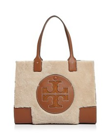 Tory Burch - Ella Shearling Mini Tote