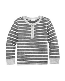 Splendid - Boys' Striped Henley Tee - Little Kid