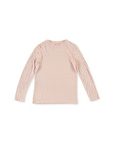 Stella McCartney - Girls' Long Sleeve Star Devoré