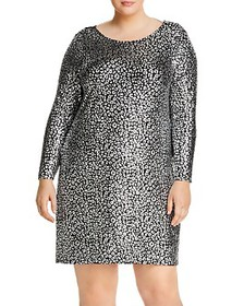 MICHAEL Michael Kors Plus - Metallic Animal-Print
