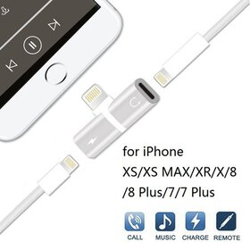 iphone Adapter 2 in 1 Lightning for iPhone 7, Adap