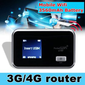 Portable Router 4G/3G Wifi Wireless Router Mobile