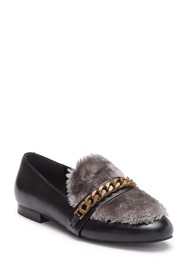 Kenneth Cole New York Wilda Faux Fur Leather Loafe