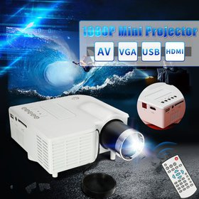 Moaere Full HD LED Video Projector Multimedia Home
