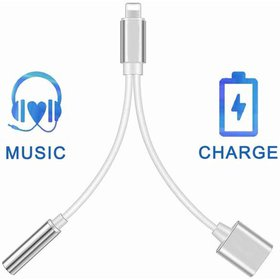 2 in 1 Lightning Adapter and Charger, Lightning to