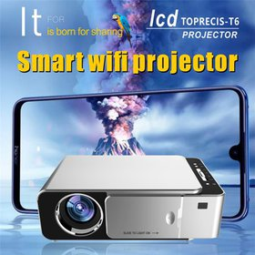 Meigar 720P HD LED Projector Portable MobilePhone