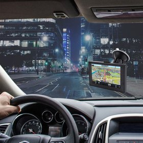 NEW 5 inch GPS Navigation Android system Capacitiv