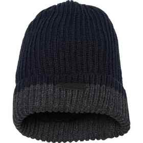 Rainforest Color-Block Ribbed Cuff Beanie (For Men