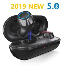 5.0 Wireless Bluetooth Earbuds for Android, IPX5 W