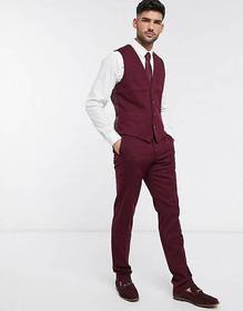 French Connection wedding slim fit flannel suit