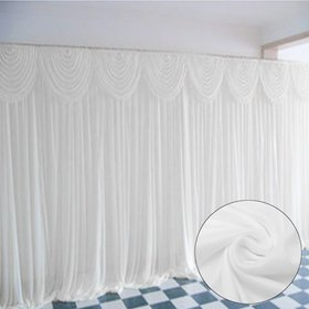 Meigar Wedding Stage Backdrop 10ftx10ft Photograph