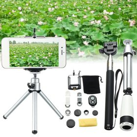 10 in 1 8x Magnification Phone Photography Lens Fi