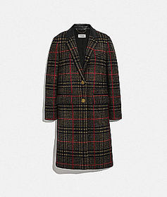 Coach tailored wool coat