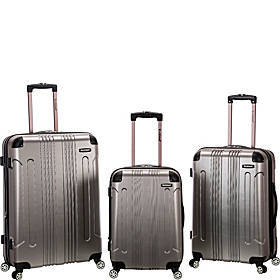Rockland Luggage London 3-Piece Hardside Spinner L