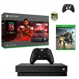 Xbox One X 1TB Console with NBA 2K20 with Titanfal