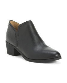 NATURALIZER Leather Comfort Booties