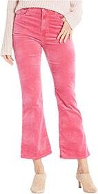 J Brand Julia High-Rise Flare in Rose Petal