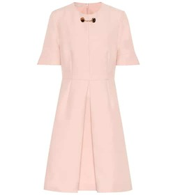 Stella McCartney Albane wool-blend mikado dress