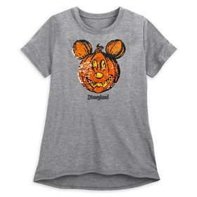Disney Mickey Mouse Reversible Sequin Pumpkin T-Sh