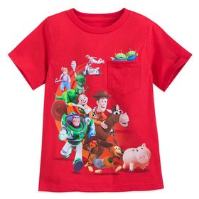 Disney Toy Story 4 Cast T-Shirt for Boys