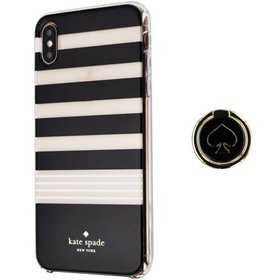 Kate Spade Hardshell Case and Ring Stand for iPhon