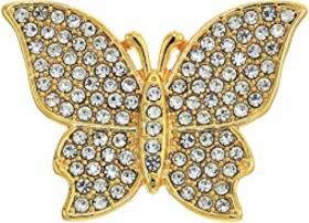 Vince Camuto Flowery Butterfly Pin