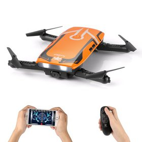 RC Quadcopter, Foldable FPV Mini Drone with 720P H
