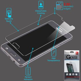 For Samsung G550 (On5) Clear Tempered Glass LCD Sc