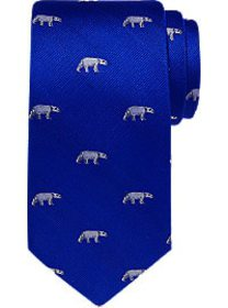 Tommy Hilfiger Blue Polar Bear Narrow Tie