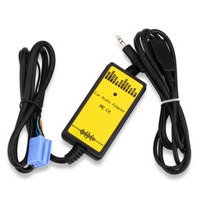Car Auto Audio MP3 Player Interface Aux In Adapter