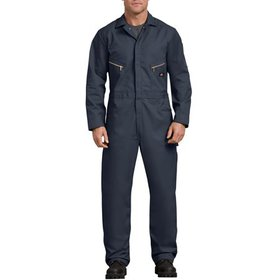 Men's Long Sleeve Deluxe Blended Twill Coverall