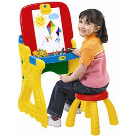 Crayola Play 'N Fold 2-in-1 Art Studio Easel Desk