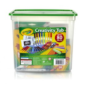 Crayola Creativity Tub Art Set Ages 5+