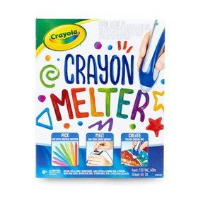 Crayola Crayon Melter Kit with Crayons, Gift for K
