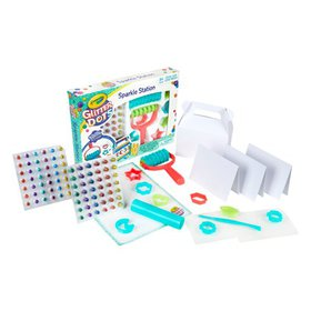 Crayola Glitter Dots Sparkle Station Craft Kit, Gi