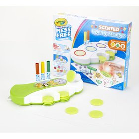 Crayola Color Wonder Scented Light Up Stamper with