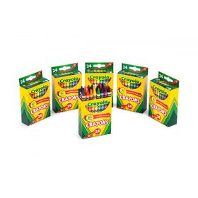 Crayola 24 Count Crayons 6 Pack Bundle Totaling 14
