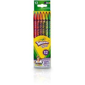 Crayola Twistable Colored Pencils 12 Count