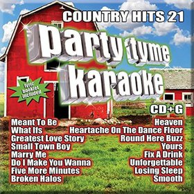 Party Tyme Karaoke - Country Hits 21