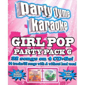 Party Tyme Karaoke: Girl Pop Party Pack 6 (CD)