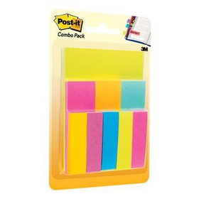 Post-it Notes and Tabs Combo Pack, Assorted Sizes