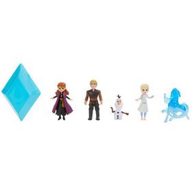 Disney Frozen 2 Peel and Reveal Small Doll Storybo