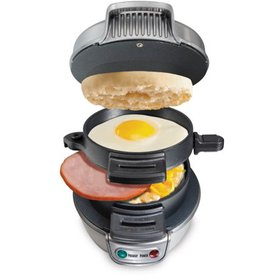 Hamilton Beach Breakfast Sandwich Maker, Silver |