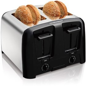 Hamilton Beach 4 Slice Chrome Toaster, Model# 2461