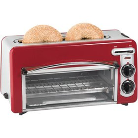 Hamilton Beach Toastation 2-in-1 2 Slice Toaster &